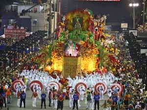 Estácio de Sá - Escola homenageia os 450 anos do Rio de Janeiro (Foto: rodrigo)