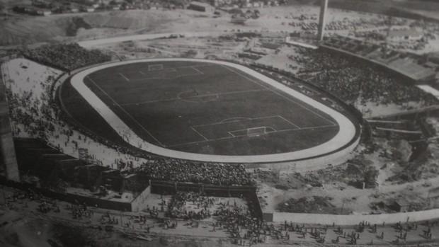 Estádio Albertão, em Teresina (PI) (Foto: Reprodução/Arquivo Cid Dias)