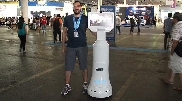 Antônio Dianin é o criador do R1T1 (Foto: Fabiano Candido)
