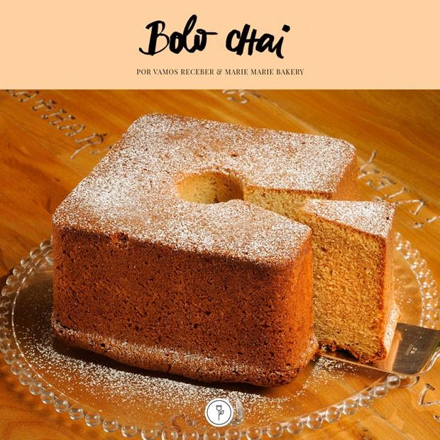 Receita de bolo chai (Foto: Julio Acevedo)