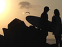 """Musa havaiana se declara a novo brasileiro da elite do surfe: """"Meu amor"""""""
