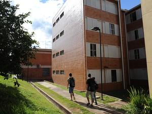 Moradia estudantil da UFSCar (Foto: Cain Rodrigues/CCS UFSCar)