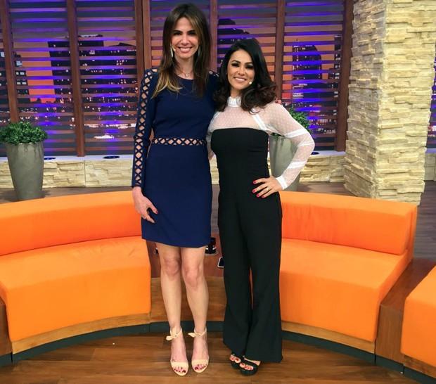 Luciana Gimenez e Suzana Alves (Foto:  Divulgação/RedeTV!)