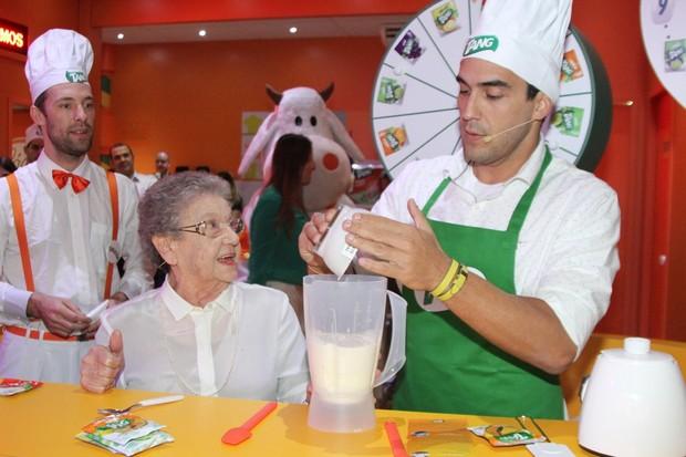 André Marques e Palmirinha (Foto: Paduardo / AgNews)