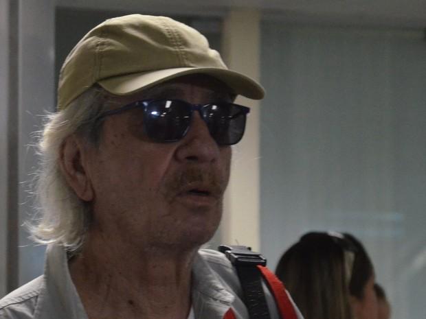Geraldo Vandré volta à paraíba após 20 anos (Foto: Giovanna Ismael/Jornal da Paraíba)