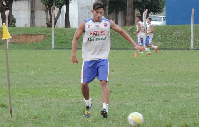 Bruno Camacho atacante Grêmio Prudente Sub-17 (Foto: Ronaldo Nascimento / GloboEsporte.com)