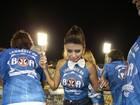 Paula Fernandes dispensa salto para sambar em camarote no Rio