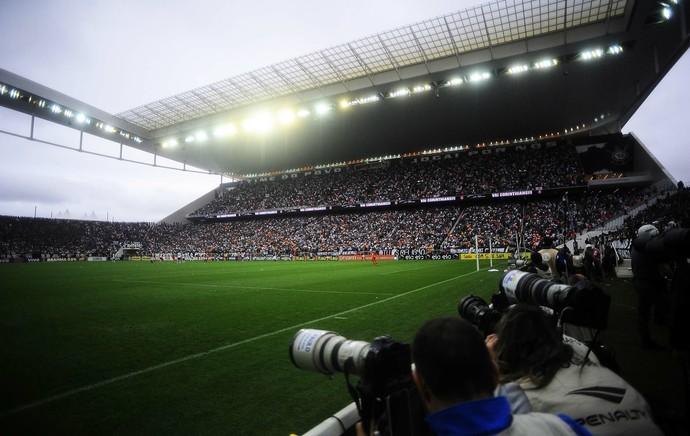 Arena Corinthians Corinthians x Flamengo Brasileiro (Foto: Marcos Ribolli)