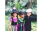 Filhos de Fátima Bernardes aparecem pequenos em foto: 'Feliz dia do irmão'
