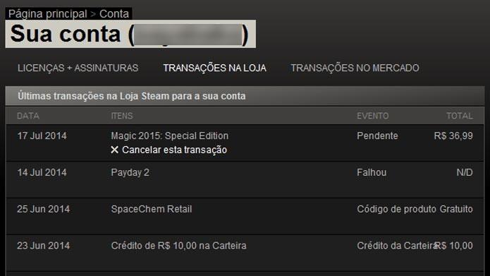 Steam: saiba como cancelar uma compra na loja online de games (Foto: Divulgação)