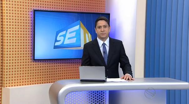 Ricardo Marques, apresentador do SETV 2ª Edição. (Foto: Divulgação / TV Sergipe)