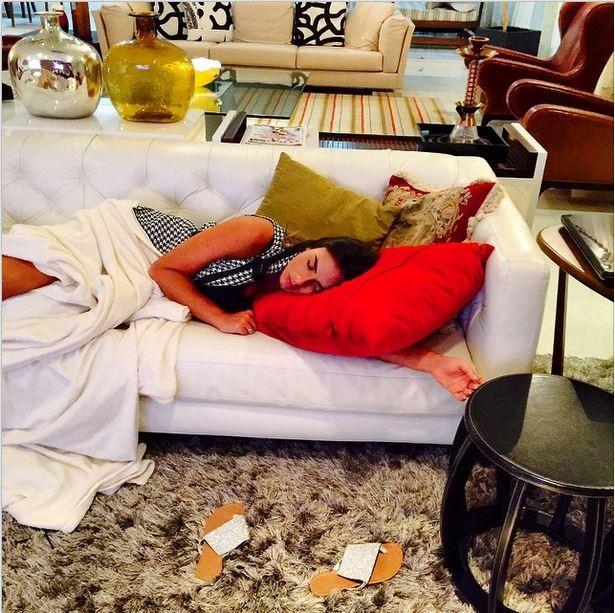 Alessandro Bassane posta foto de Nicole Bahls (Foto: Reprodução/Instagram)