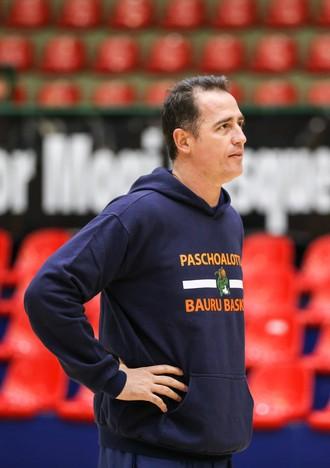 Demétrius Ferracciú, treino, Bauru Basquete (Foto: Caio Casagrande / Bauru Basket)