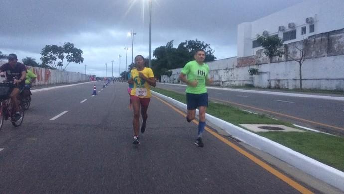 Oane Pantoja liderou a prova do começo do fim (Foto: GloboEsporte.com)