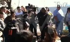 Tyrese Gibson em Santa Clarita, na Califórnia, nos Estados Unidos (Foto: Reprodução)