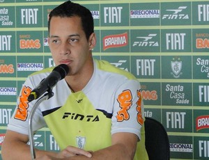Rodriguinho, meia do Am&#233;rica-MG. (Foto: Gabriel Medeiros / Globoesporte.com)