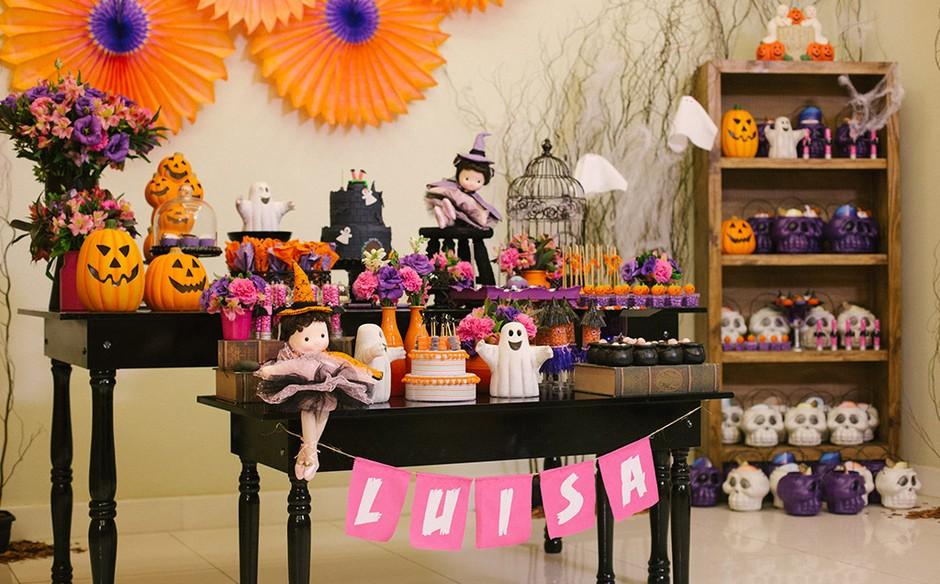 Festa infantil com o tema halloween no 39 fazendo a festa - Fiesta halloween infantil ...
