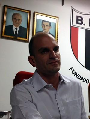 Gustavo Assed assume presidência do Botafogo-SP por aclamação (Foto: Cleber Akamine / Globoesporte.com)