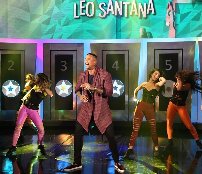 Léo Santana participou do 'Ding Dong' (Foto: Carol Caminha/Gshow)