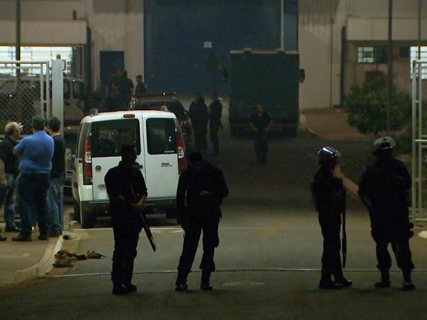 CPP em Jardinópolis, SP, continua transferindo presos recapturados para unidades de regime fechado (Foto: Reprodução/EPTV)