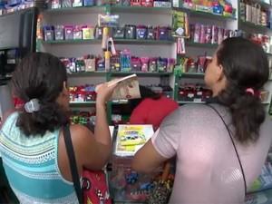 Procon alerta para proibições na lista do material escolar (Foto: Reprodução/TV Bahia)