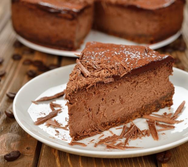 Cheesecake de café e chocolate (Foto: Divulgação/Danubio)