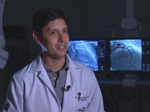 Médico explicou sobre doenças cardiovasculares (Foto: Reprodução/TV TEM)