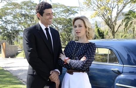 Atualmente, Mariana Ximenes está no ar em 'Guerra dos sexos', na qual é Juliana e contracena com Reynaldo Gianecchini (Nando) Raphael Dias/TV Globo