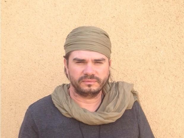 Alexandre Canhoni no Níger (Foto: Arquivo Pessoal)