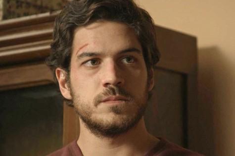 Marco Pigossi em cena como Rafael (Foto: Divulgação)