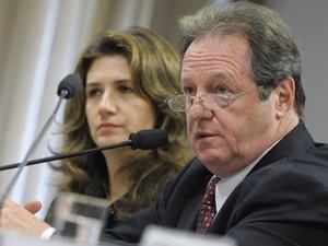 O presidente da Anamatra, Paulo Luiz Schmidt, em audiência no Senado em julho (Foto: Lia de Paula/Ag.Senado)