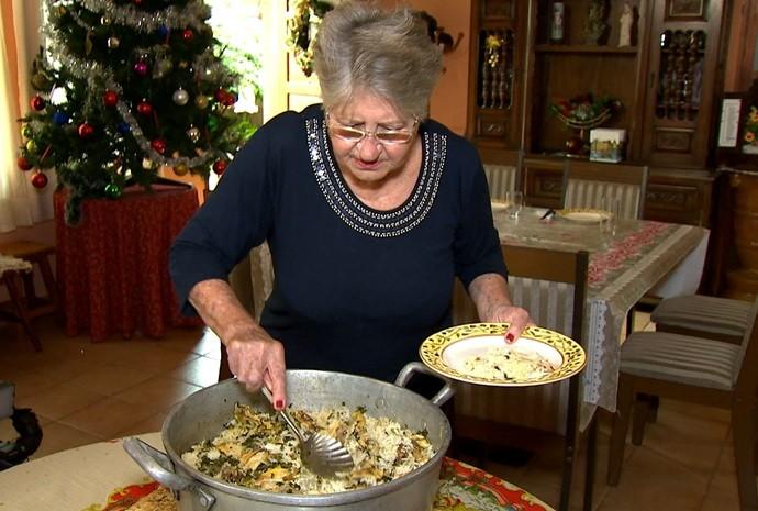 Cada uma das irmãs gostam do frango de um jeito diferente! (Foto: Revista de Sábado / TV TEM)