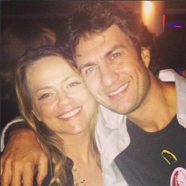 Viviane Pasmanter e Gabriel Braga Nunes (Foto: Reprodução/Instagram)