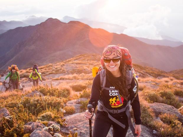 Expedição capixaba feminina chega ao topo da Serra da Mantiqueira, Espírito Santo (Foto: Mulheres no Topo)