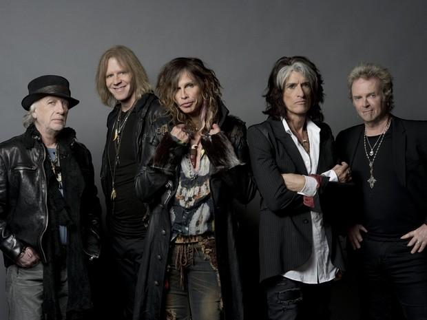 Aerosmith faz show em Curitiba nedta terça-feira (15) e depois segue para o Rio de Janeiro. (Foto: Divulgação)