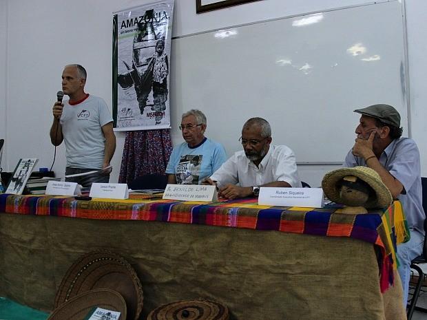 Divulgação do relatório foi realizada em Manaus (Foto: Gabriel Machado/G1 AM)