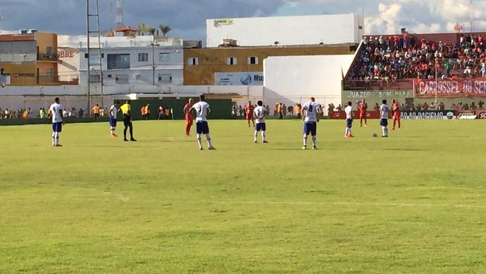 Bahia x Juazeirense pela semifinal do Bahia (Foto: Divulgação / EC Bahia)
