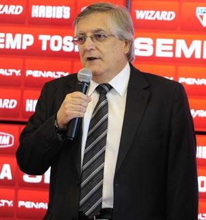 João Paulo de Jesus Lopes, diretor do São Paulo (Foto: Marcos Ribolli)