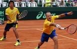 De olho nas Olimpíadas, Soares e Melo jogarão juntos no Rio Open (Divulgação/CBT Cristiano Andujar)