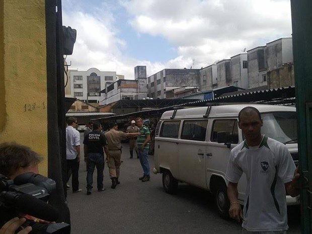 Presidente da CDL é morto dentro de estacionamento em Juiz de Fora (Foto: Roberta Oliveira/G1)