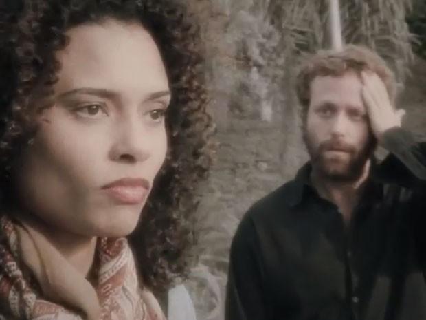 Aisha Jambo e Sergio Hondjakoff (Foto: Reprodução)