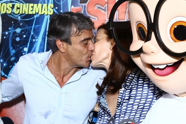 Alexandre Borges e Julia Lemmertz (Foto: Raphael Mesquita / FotoRioNews)