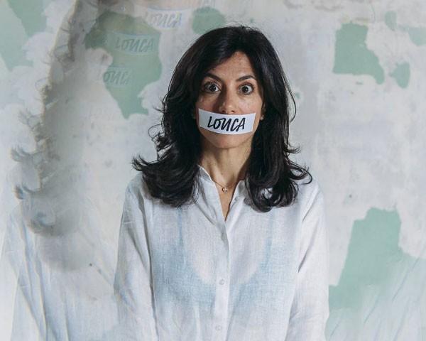 Marina Person posa para a campanha #TambémÉViolência (Foto: Divulgação)