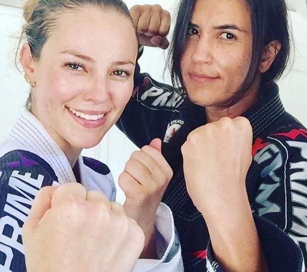 Paolla Oliveira intensifica preparação para viver uma policial lutadora em À Flor da Pele (Foto: Reprodução/Instagram)