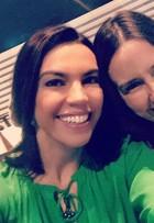 Ana Paula Araújo comemora retorno de Susana Naspolini ao RJTV