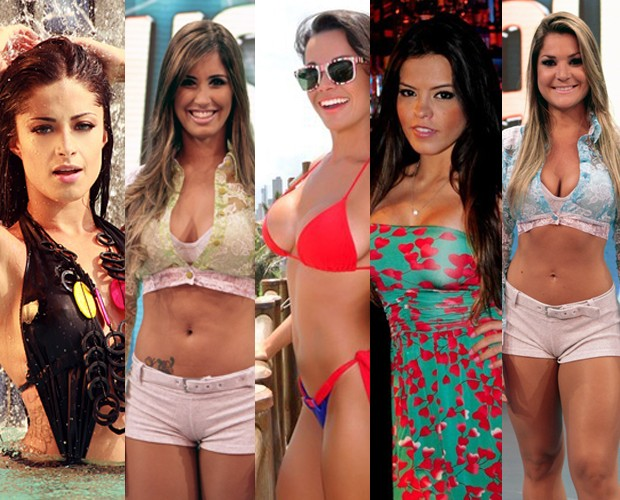 As mais gatas do Balé do Faustão (Foto: Domingão do Faustão / TV Globo)