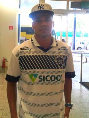 Atacante Rodrigo Carmo, do Estrela do Norte (Foto: João Brito/GloboEsporte.com)