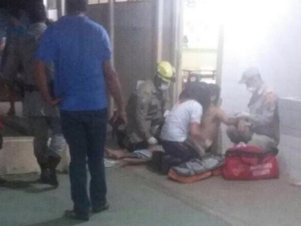 Jovem é baleado dentro de escola na cidade de Goiás (Foto: Divulgação/Polícia Civil)