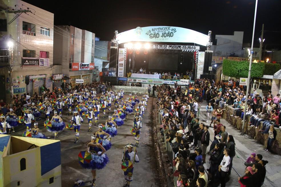 Junina Sanfonar venceu o concurso em Arcoverde (Foto: Divulgação/Prefeitura de Arcoverde)