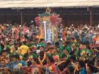 Movidos pela fé, fiéis caminham 37 km de Mojuí dos Campos a Santarém, PA